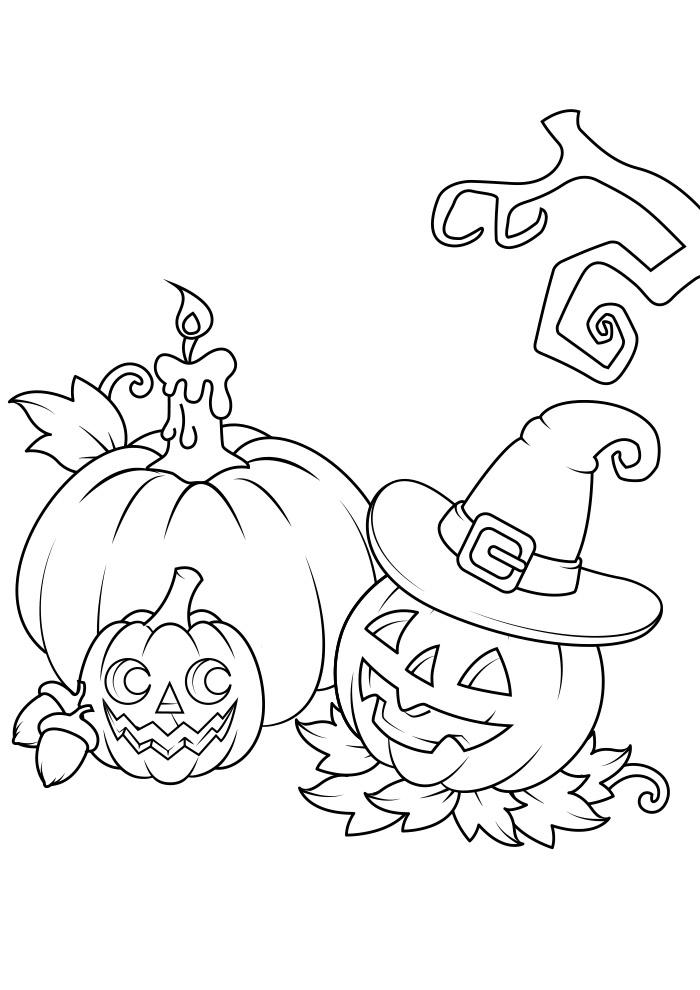 halloween para colorir 9