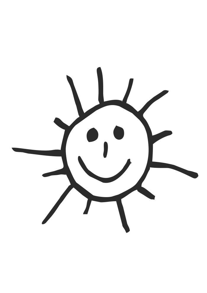Desenhos para criança pintar