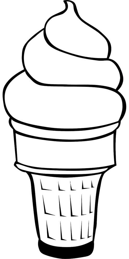 sorvete de bola na casquinha