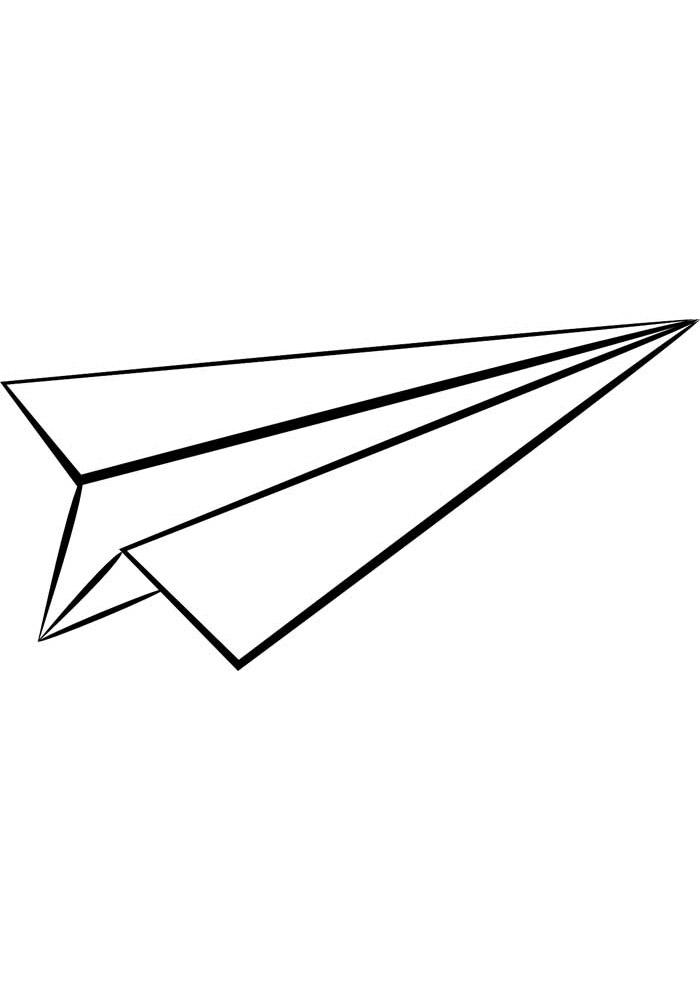 aviao para colorir 19