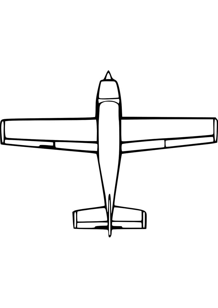 aviao para colorir 39