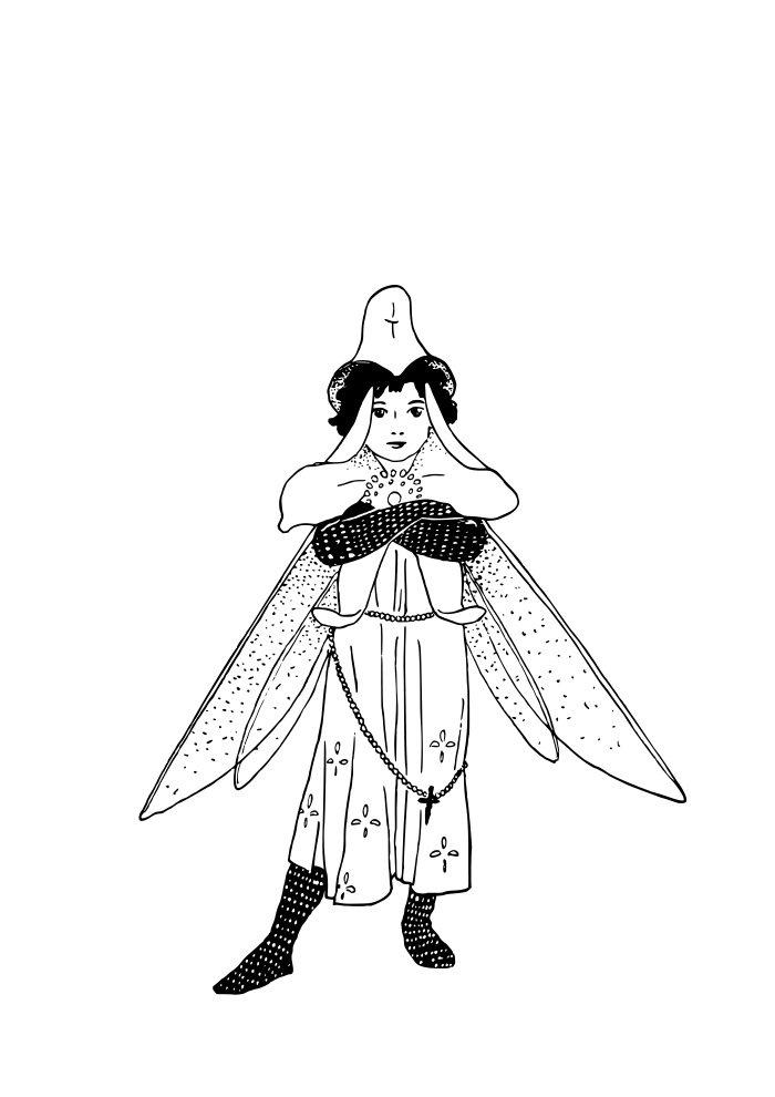 desenho de fada 2