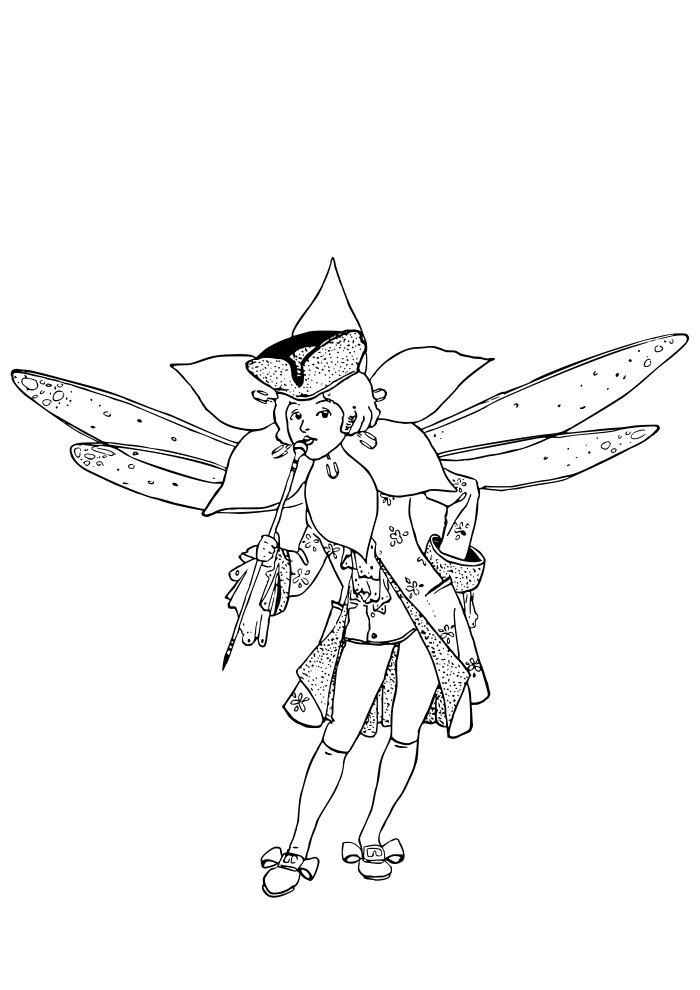 desenho de fada 3