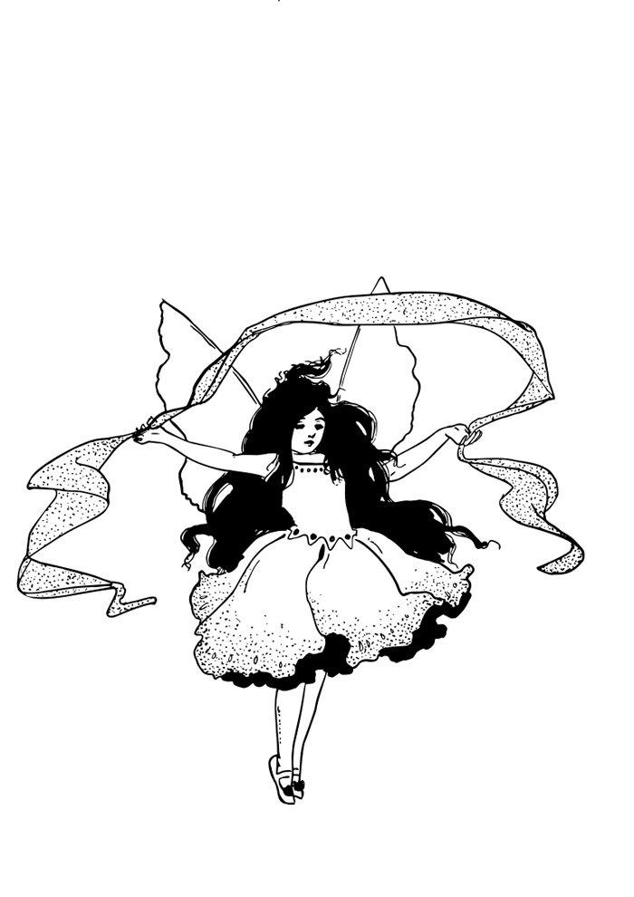 desenho de fada 6
