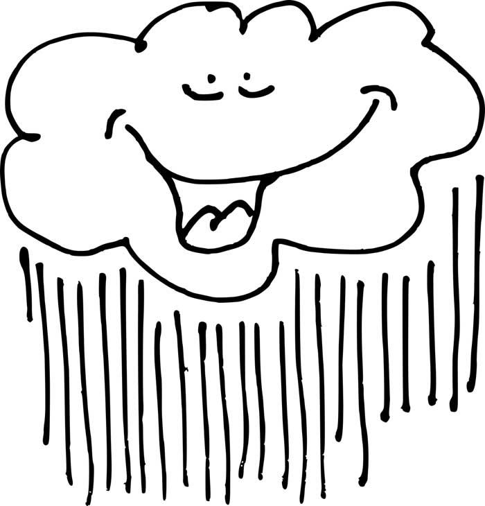 desenho de nuvem 1