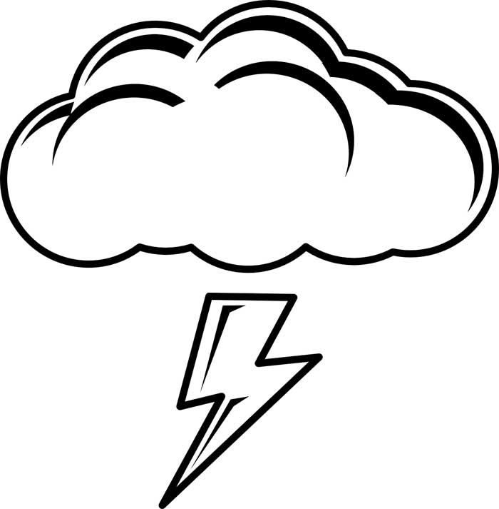 desenho de nuvem 12