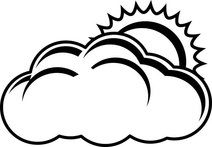 desenho de nuvem 13
