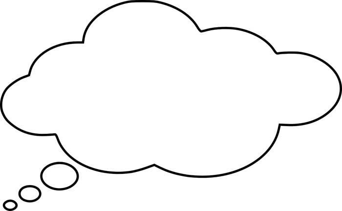 desenho de nuvem 17