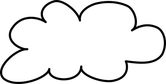 desenho de nuvem 18