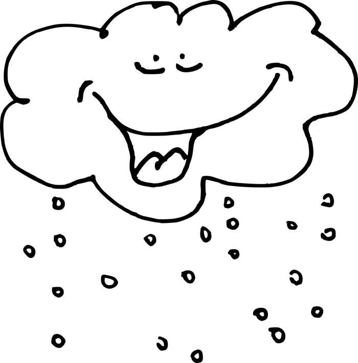 desenho de nuvem 2