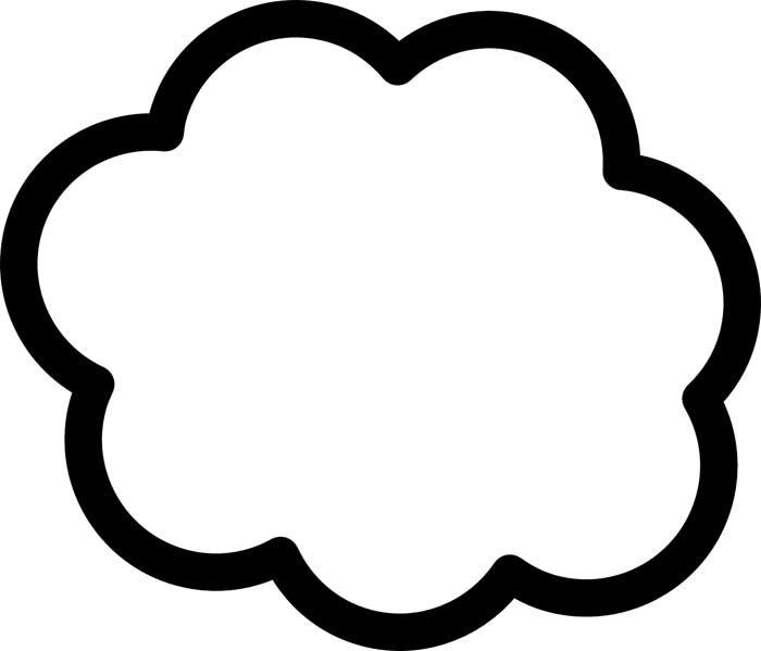 desenho de nuvem 24