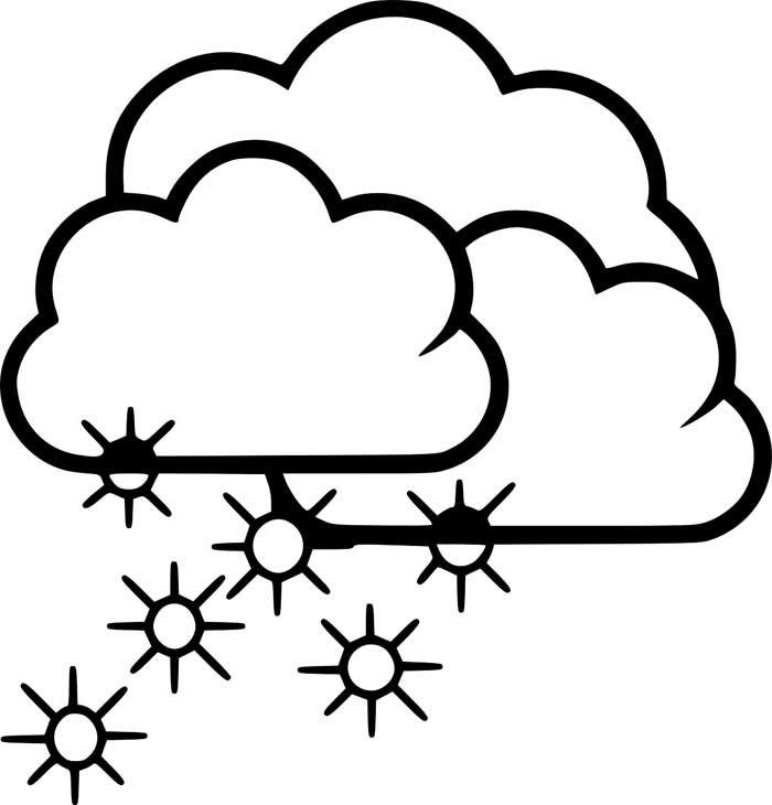desenho de nuvem 5