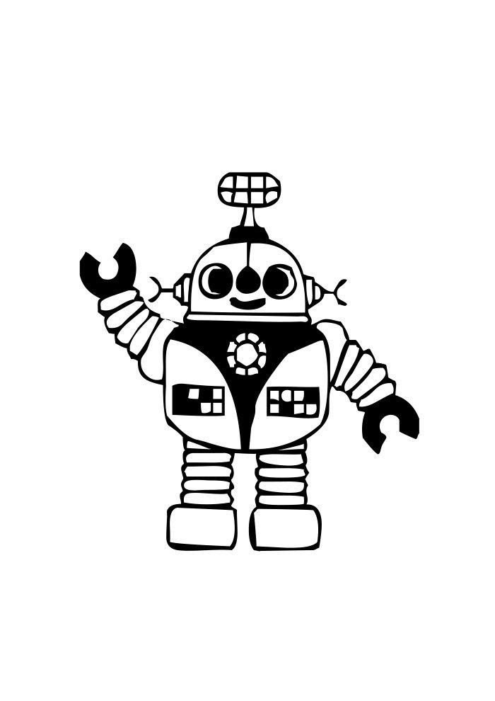 desenho de robo 10