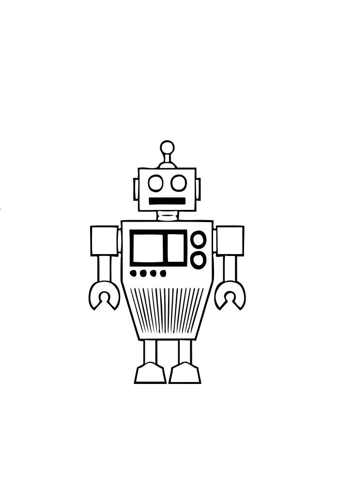 desenho de robo 6