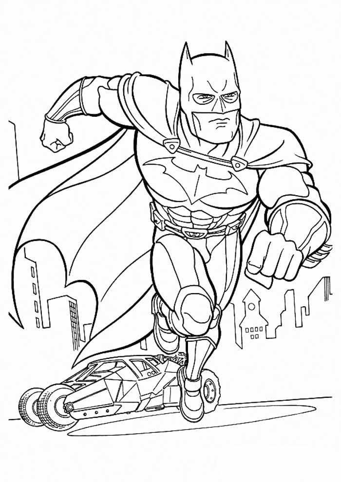 batman para colorir1