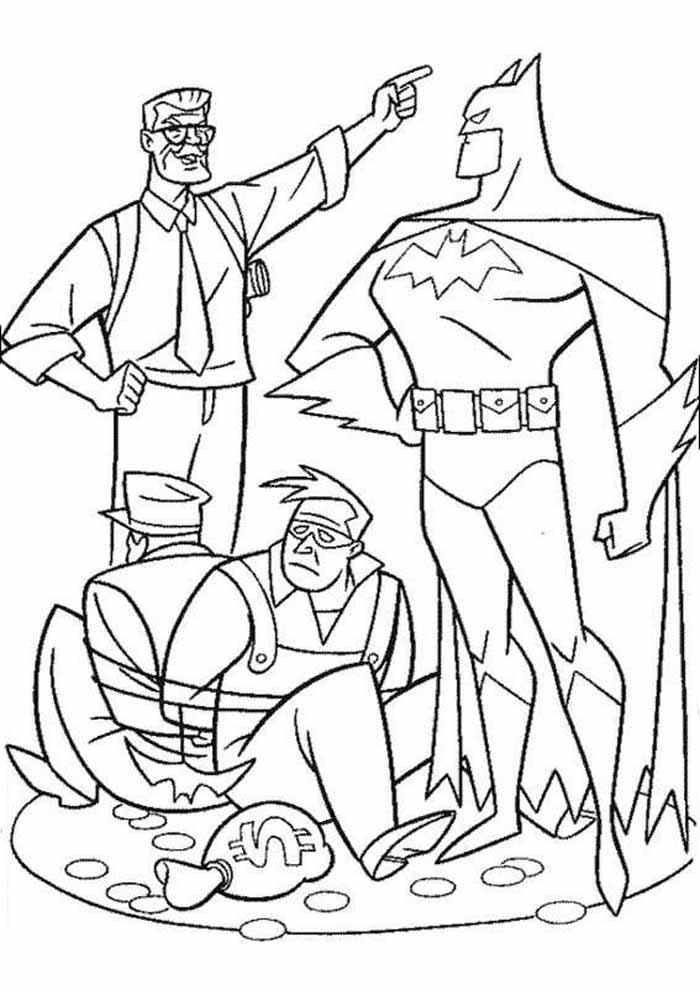 batman para colorir11