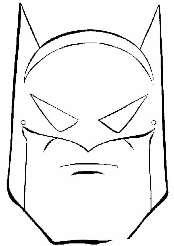 batman para colorir12