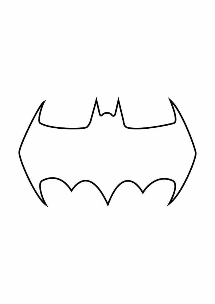 batman para colorir15