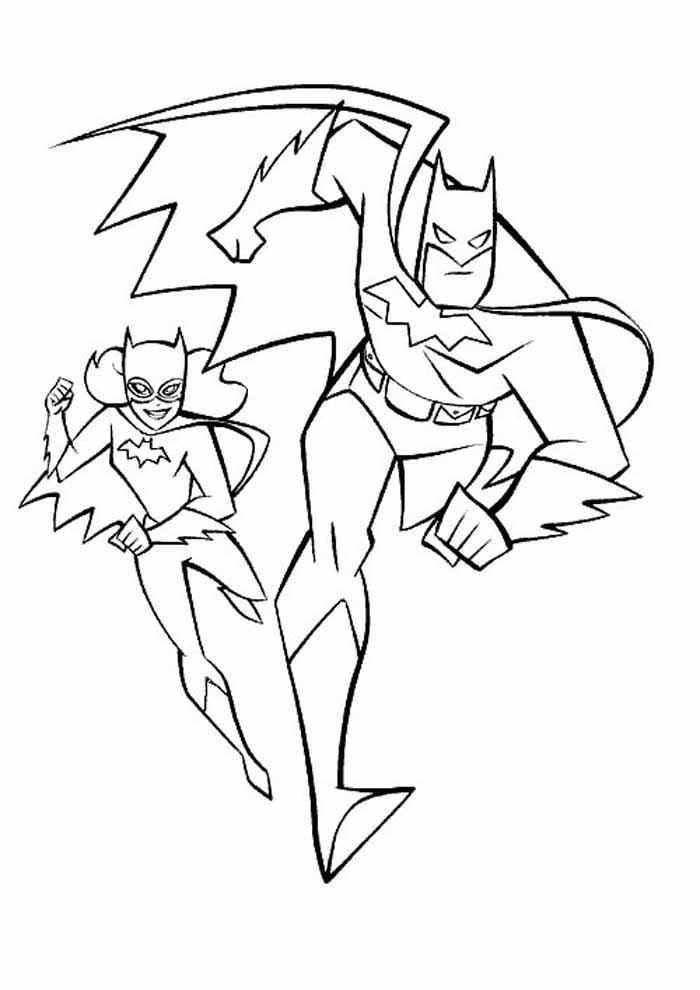 batman para colorir2