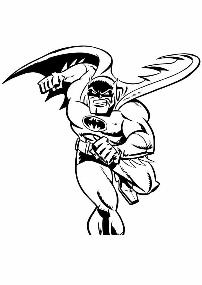 batman para colorir22