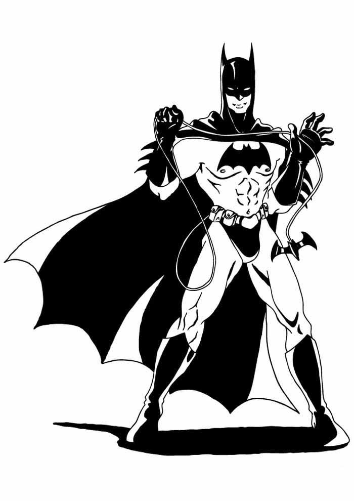 batman para colorir25