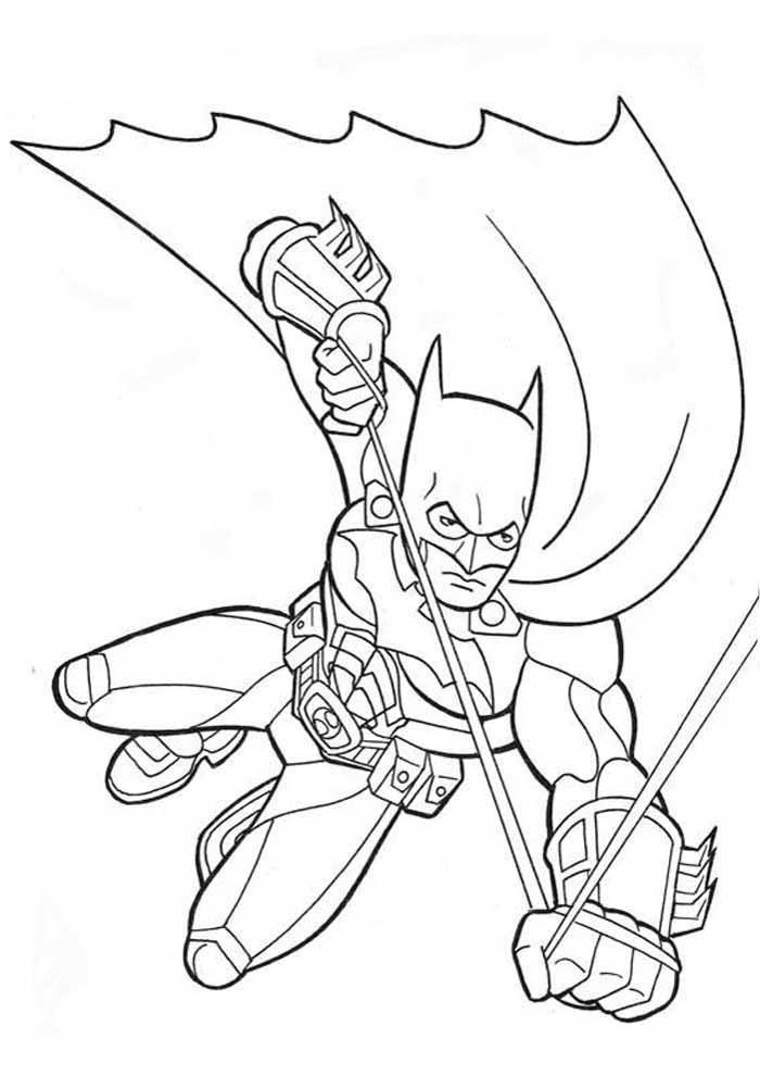 batman para colorir3