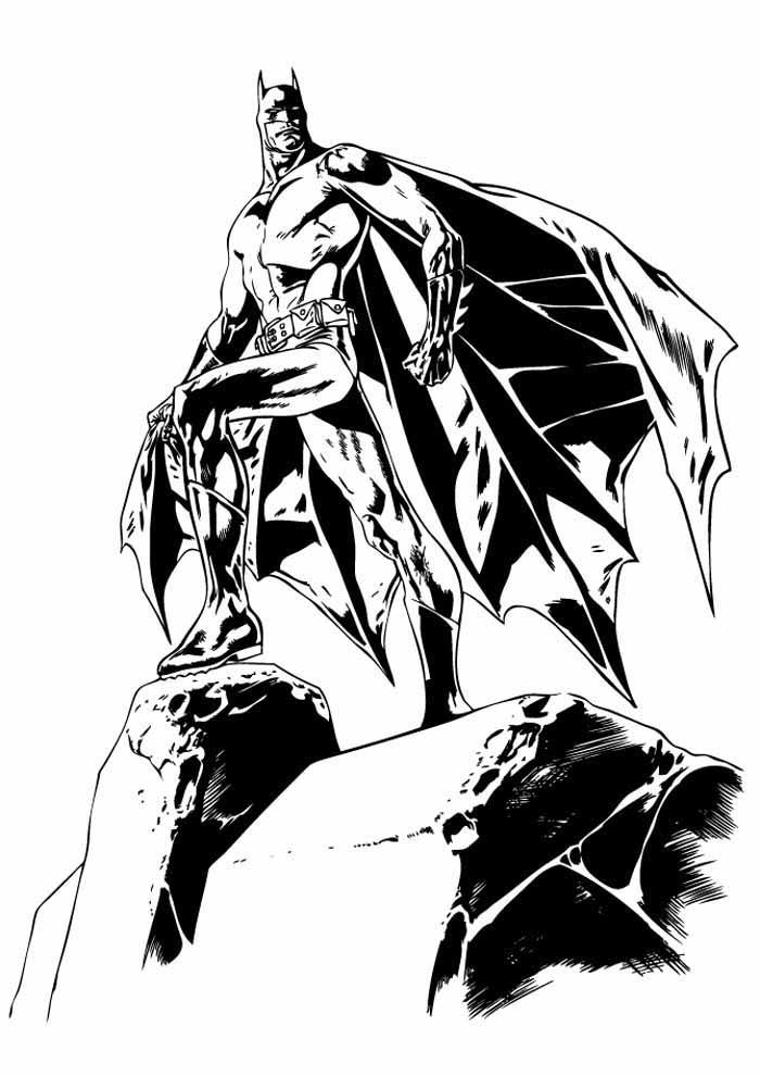 batman para colorir34