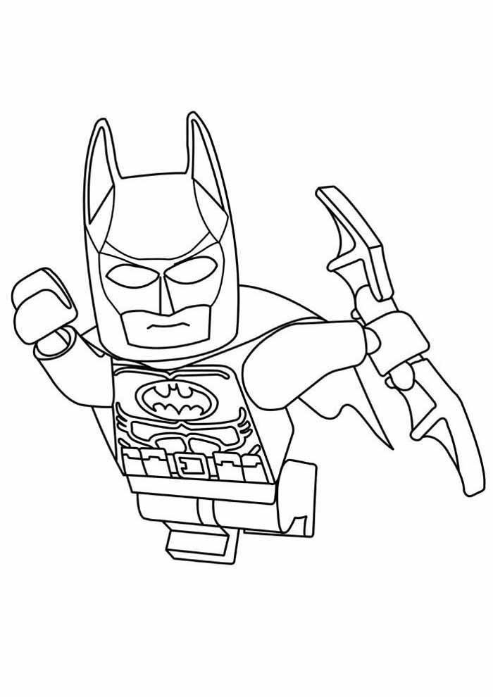 batman lego para colorir36