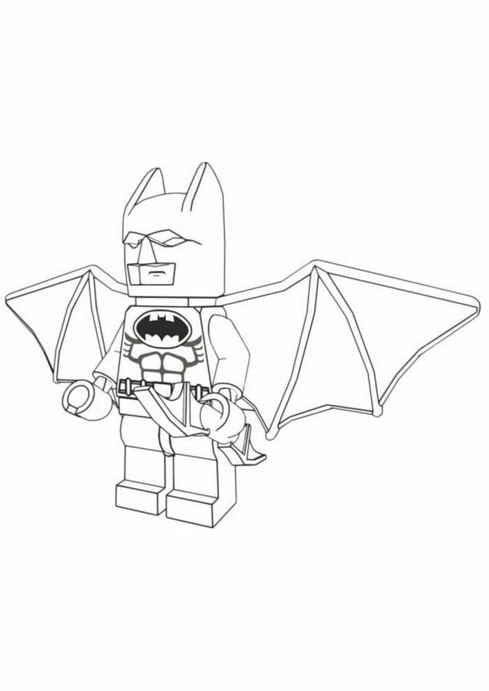 batman lego para colorir39