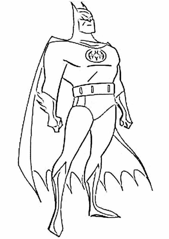 batman para colorir6