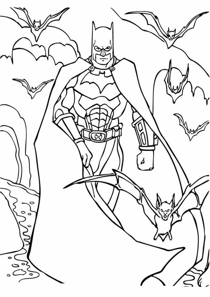 batman para colorir8