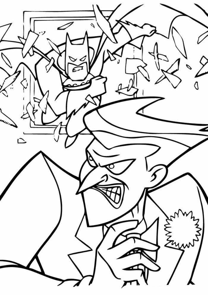 batman para colorir9