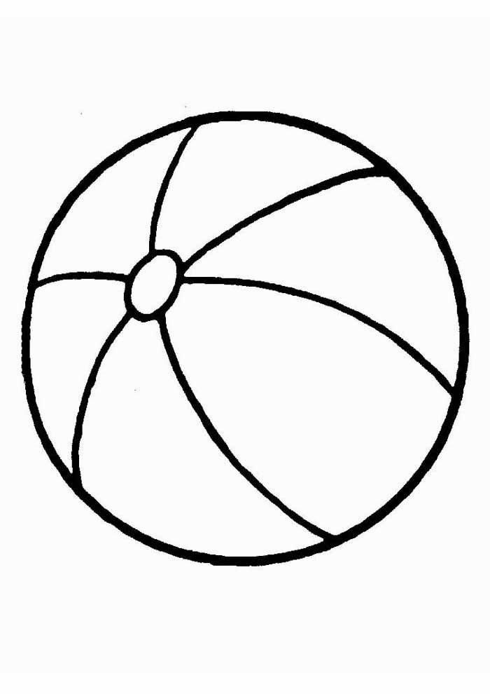 desenho-infantil-para-colorir-bola