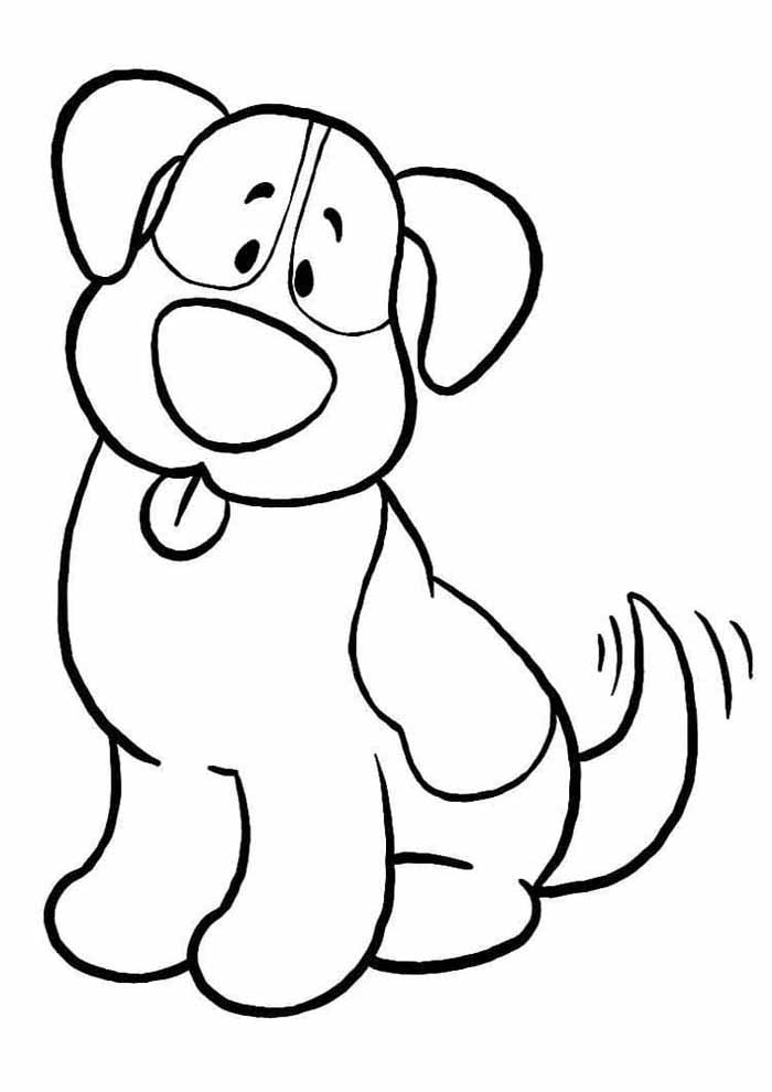 desenho-infantil-para-colorir-cachorro
