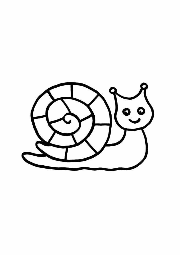 desenho-infantil-para-colorir-caramujo
