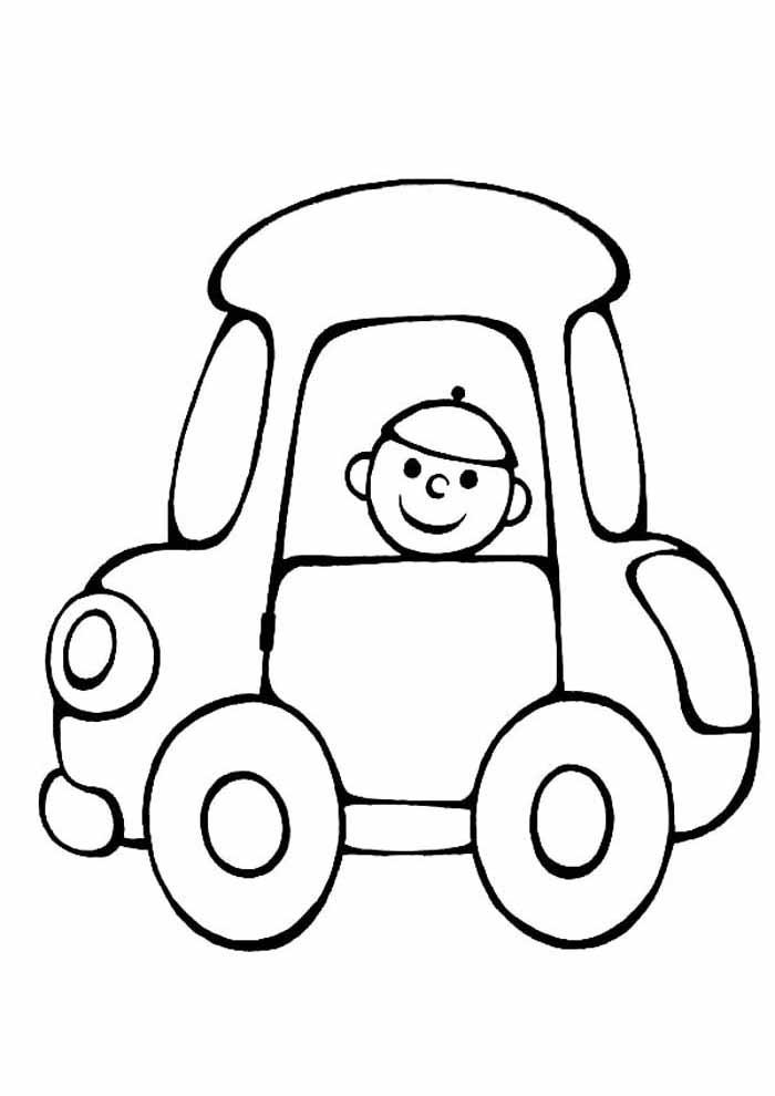 desenho-infantil-para-colorir-carro-e-menino