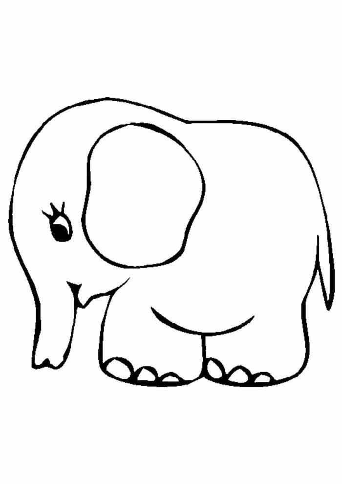 desenho-infantil-para-colorir-elefante-fofo