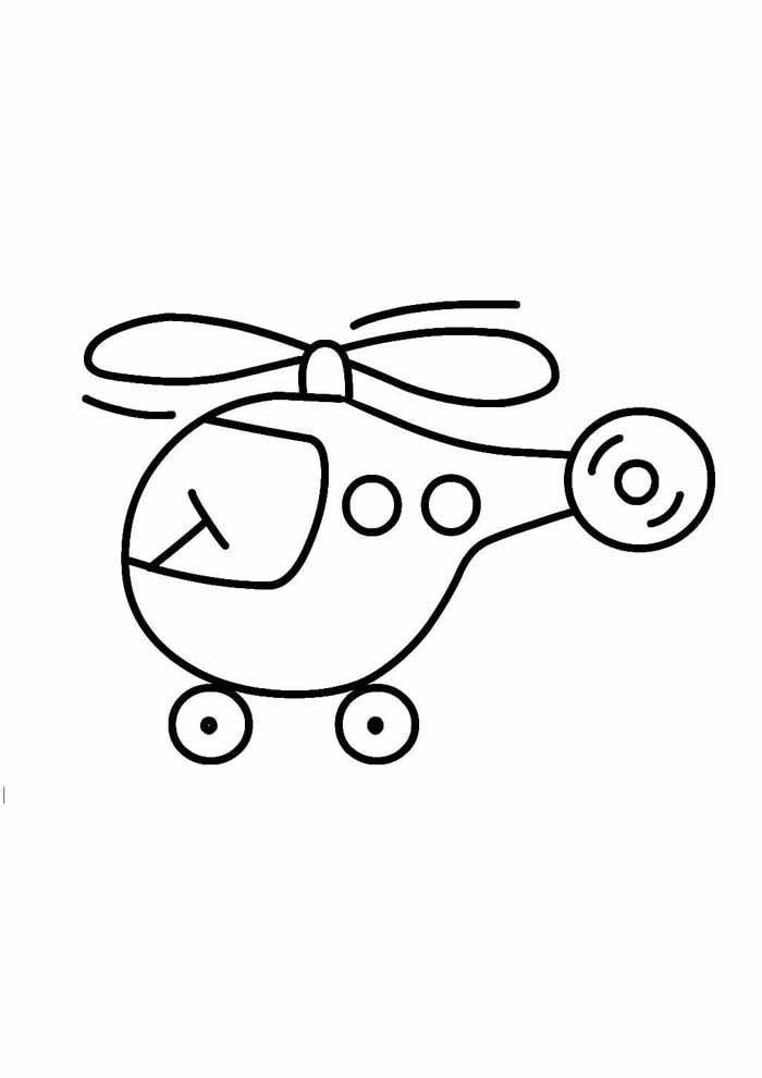 desenho-infantil-para-colorir-helicoptero