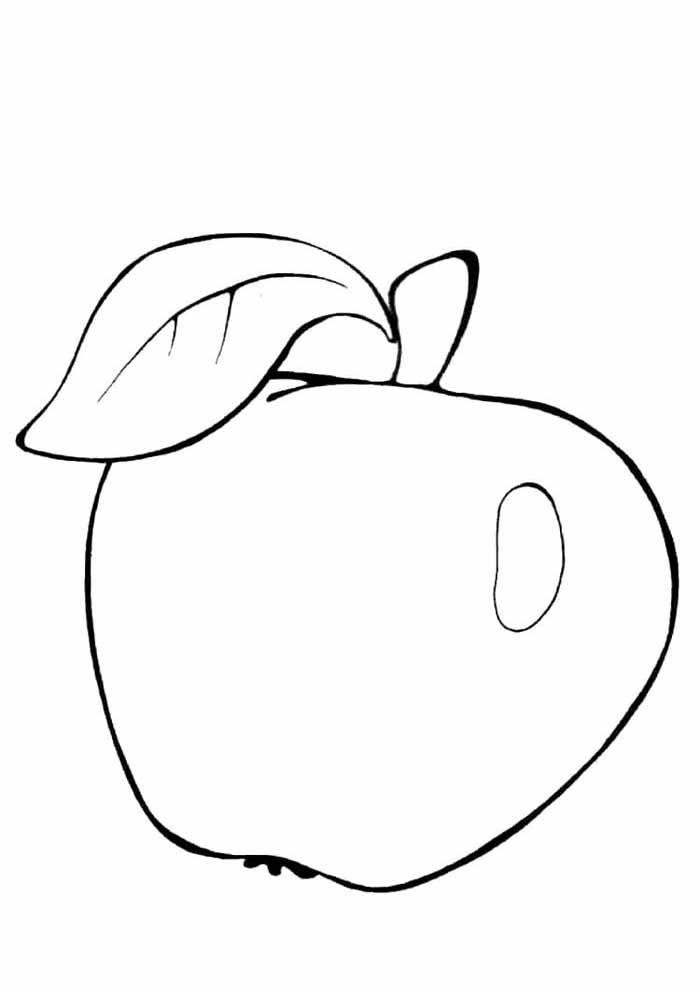 desenho-infantil-para-colorir-maca