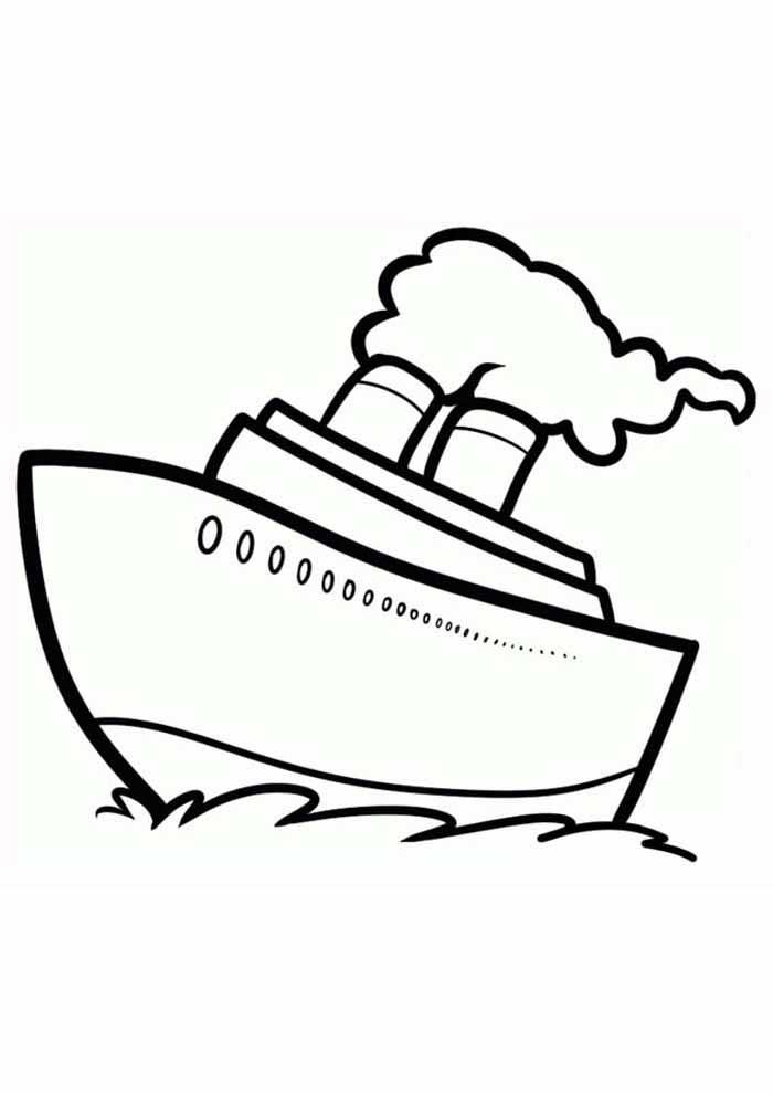 desenho-infantil-para-colorir-navio