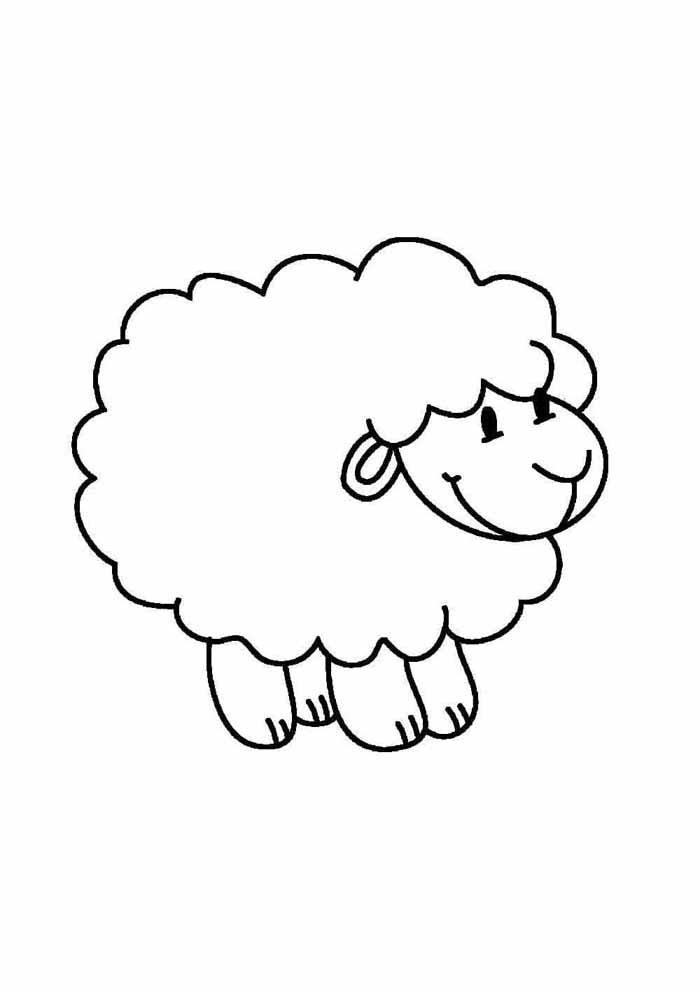 desenho-infantil-para-colorir-ovelha