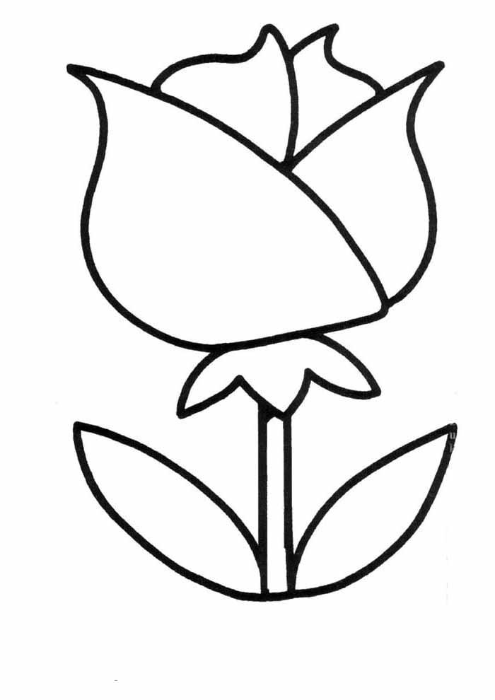 desenho-infantil-para-colorir-rosa