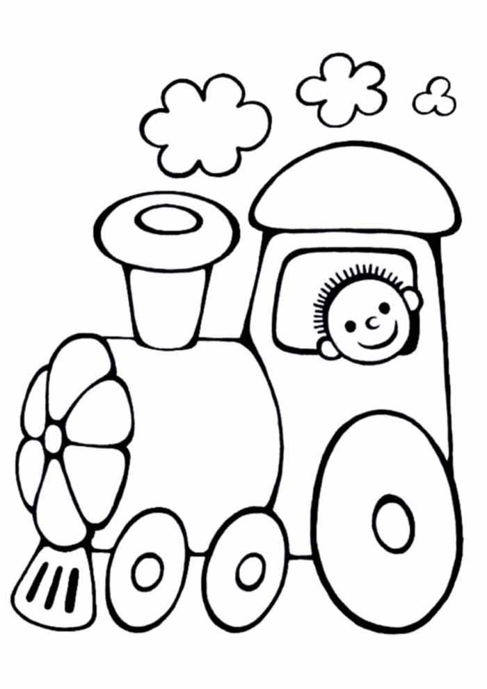 desenho-infantil-para-colorir-trem