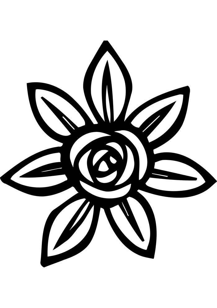 flores-para-colorir-flor-artistica