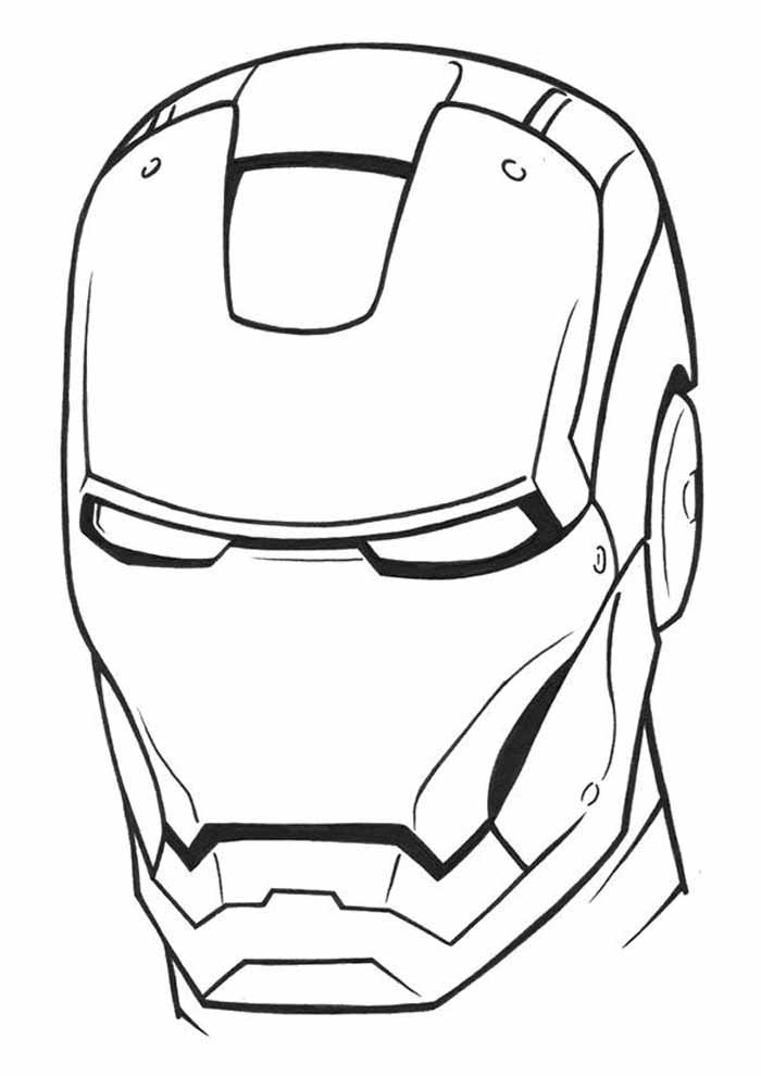 homem de ferro para colorir 29