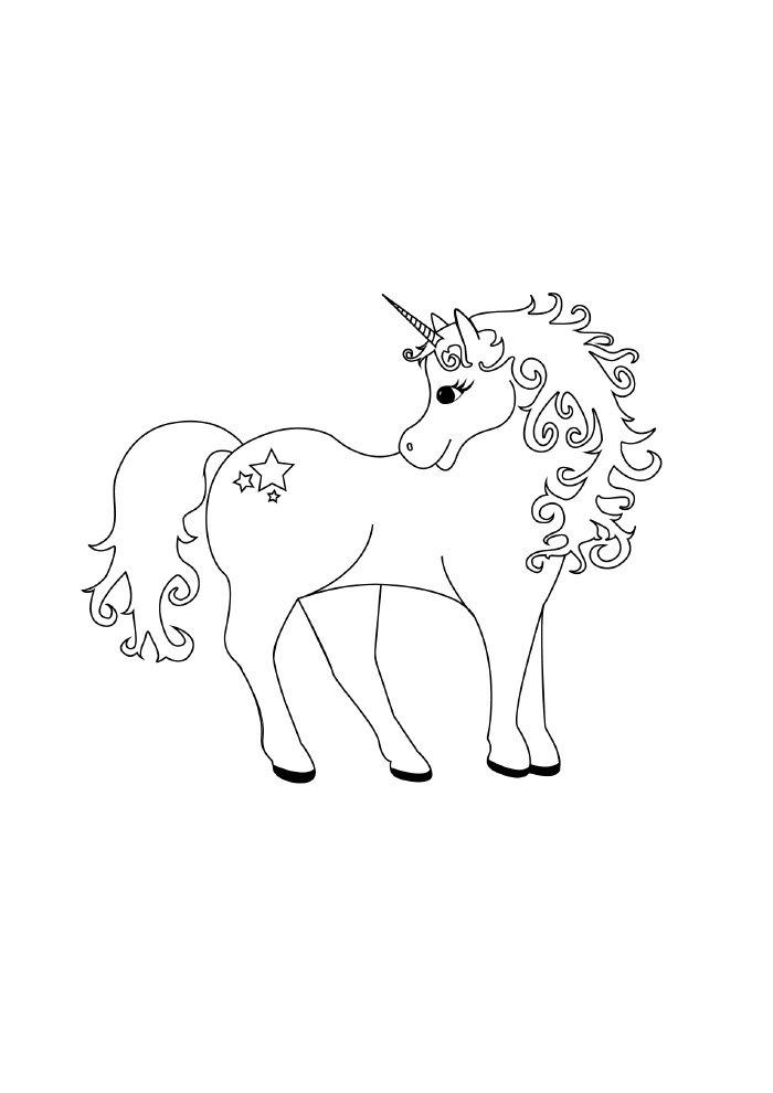 lindo-unicornio-para-colorir