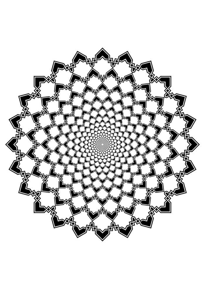 mandala-para-colorir-3d