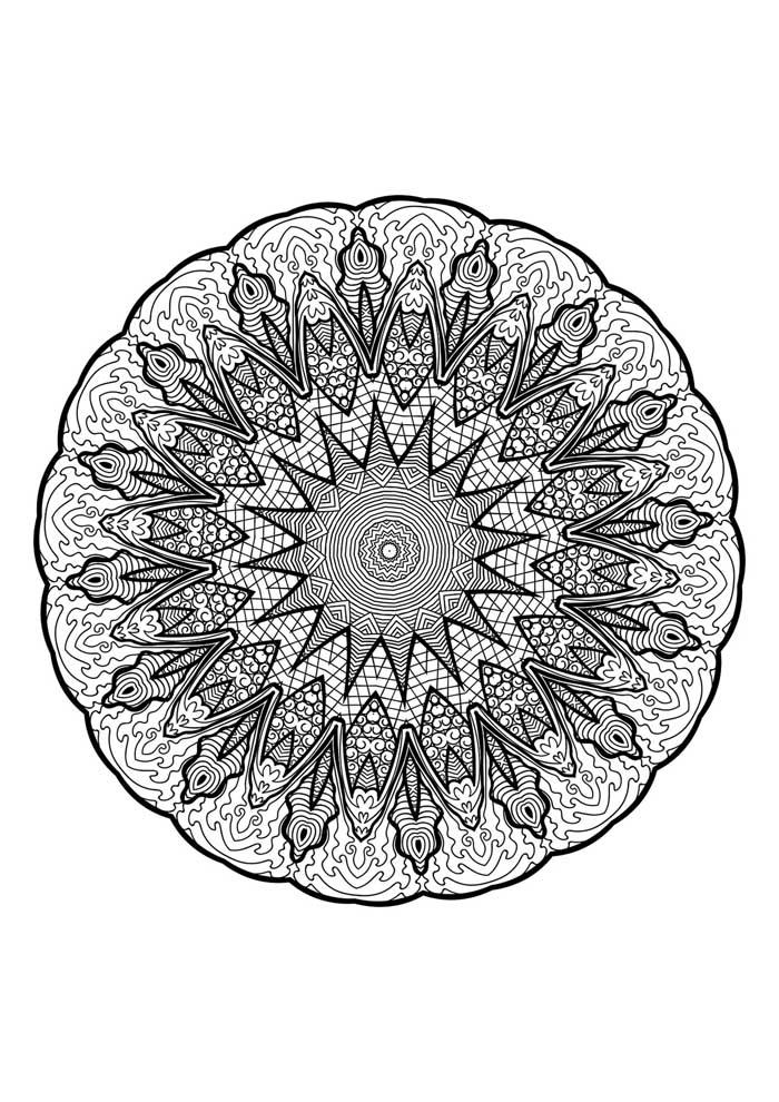 mandala-para-colorir-com borda