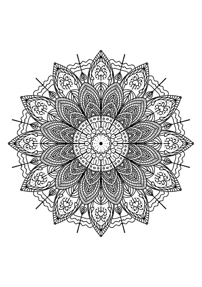 mandala-para-colorir-detalhada-amor