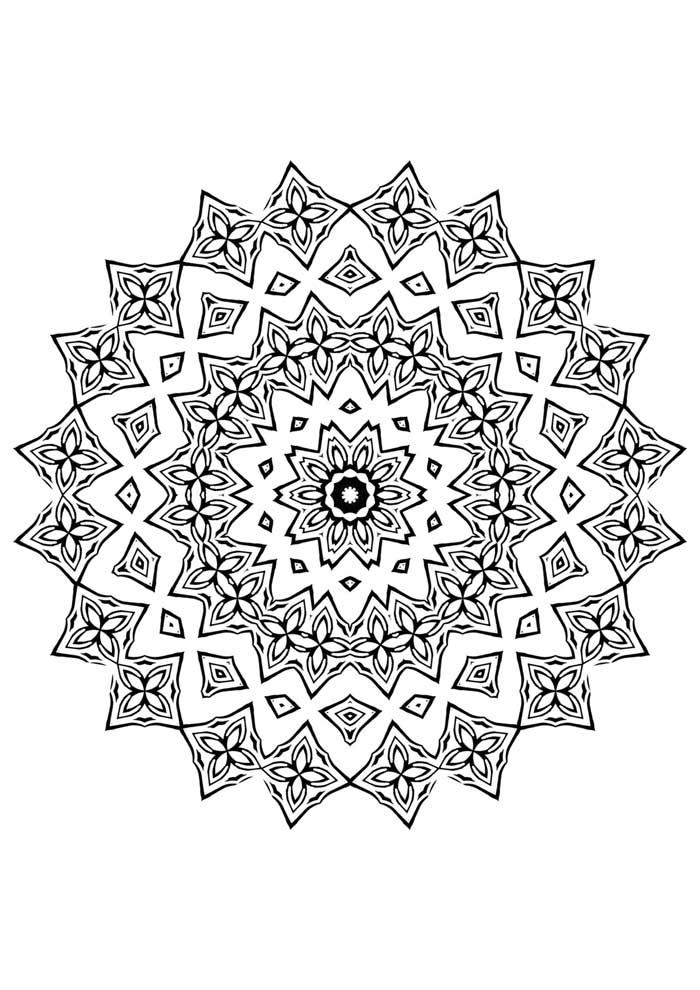 mandala-para-colorir-facil